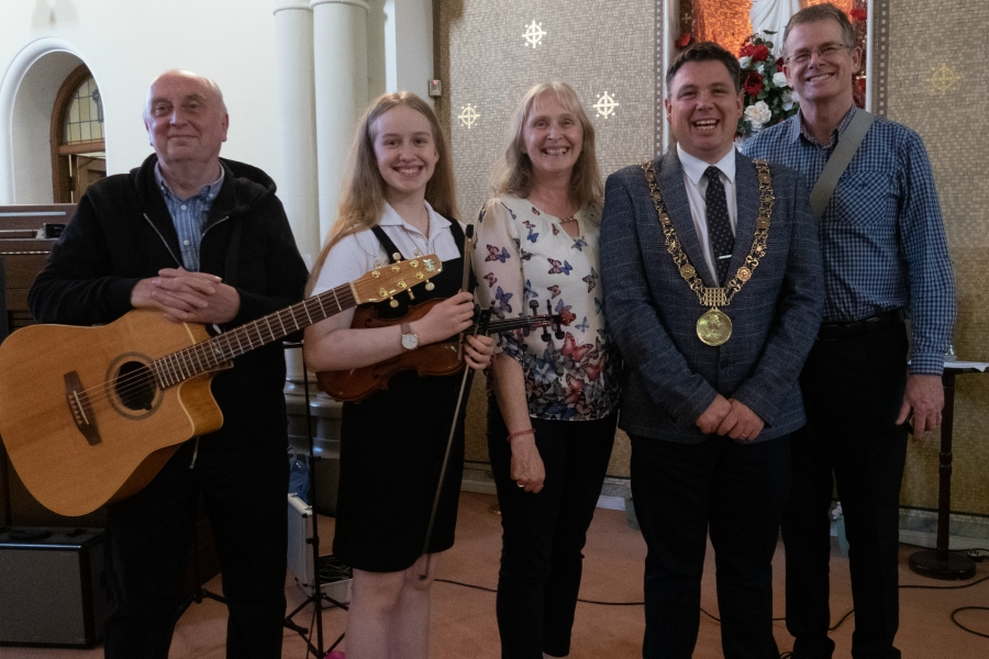 Lord Mayor Paul McAuliffe at St Canices Church Culture Night